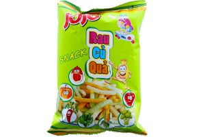Snack Jojo Vegetable Flavored 40g