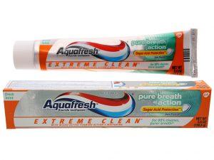 Toothpaste Aquafresh Pure breath action 158.7g