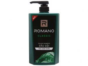 Romano Classic Deluxe Shampoo Strong Hair 650g