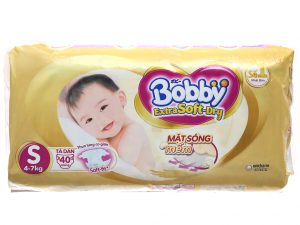 Bobby's baby diapers Extra Soft-Dry Size S 4 – 7kg 40 pcs