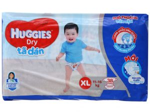 Huggies Dry's baby diapers Size XL 11 – 16kg 38 pcs