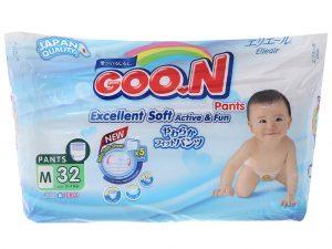 Goon Excellent Soft Pants Size M 7 – 12kg 32 pcs