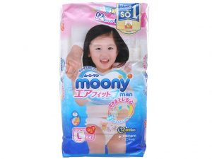 Moony Man Pants for girls Size L 9 – 14kg 44 pcs