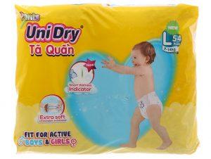 Unidry Pants Size L 9 – 14kg 54 pcs