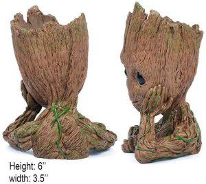 Pen Pot Tree Man
