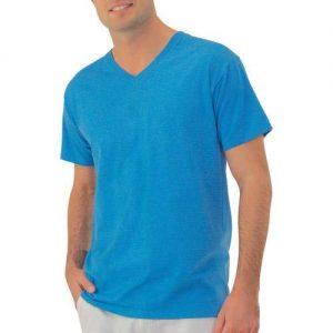 Sovina Mens Stay Tucked V Neck T Shirt