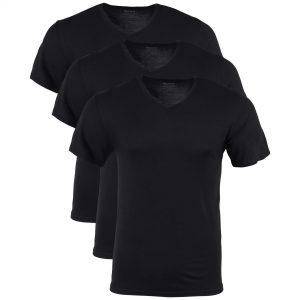 Sovina Mens Modal V Neck T Shirts 3 Pack