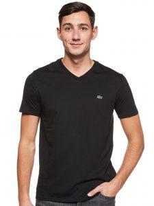 Sovina Mens Short Sleeve V Neck Pima Cotton Jersey T Shirt