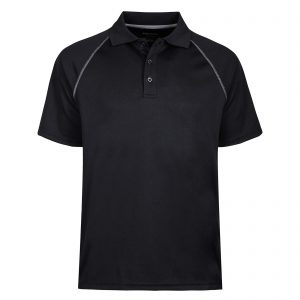 Mens Short Sleeve Moisture Wicking Performance Golf Polo Shirt Side Blocked Tall Sizes