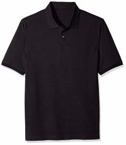 Sovina Essentials Mens Regular fit Cotton Pique Polo Shirt