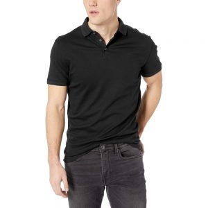 Sovina Mens Liquid Touch Polo Solid with Uv Protection