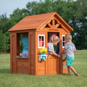 2020 4-5 people outdoor kids playhouse garden wood