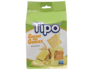 Tipo cream egg cookies durian 135g