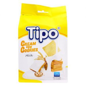 Tipo cream egg cookies milk 135g
